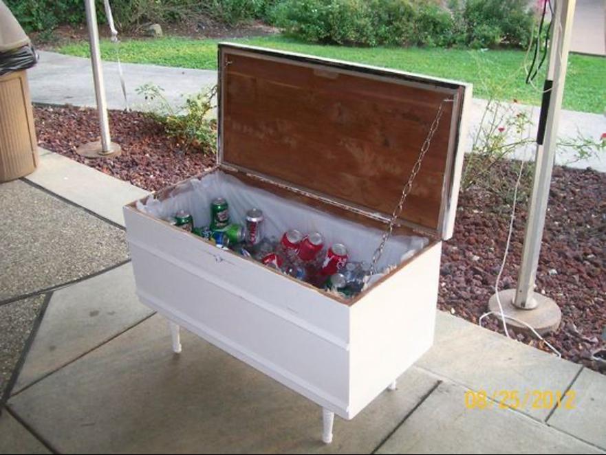 cedar chest cooler box