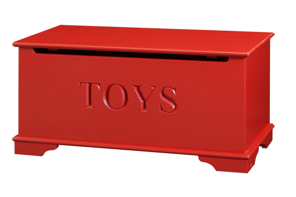 toy chest size