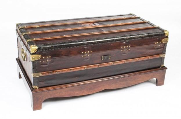 amish steamer trunk