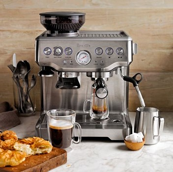 lavish expresso machine as an expensive wedding gift idea