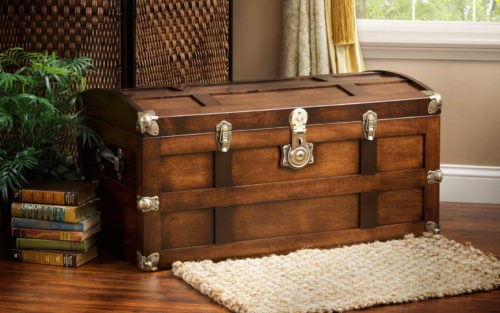 A Vintage Chest That Could Become A Valuable Antique In The Future