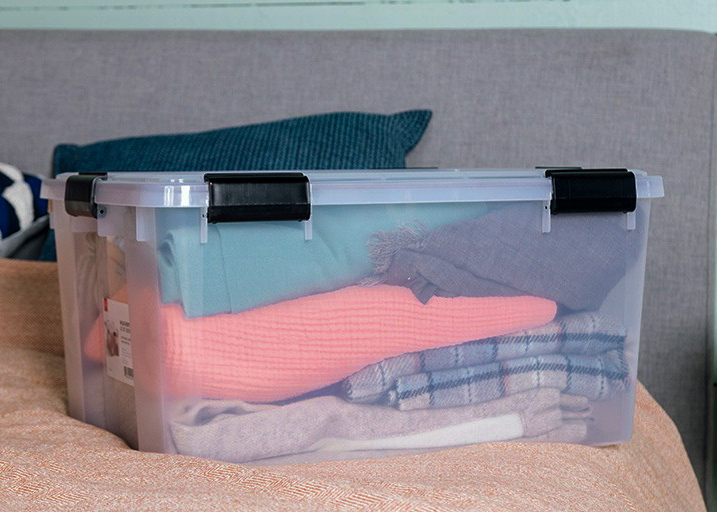 air tight containers is how to protect wool clothing from moths