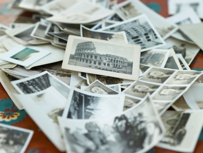 can i store old photos in my cedar chest