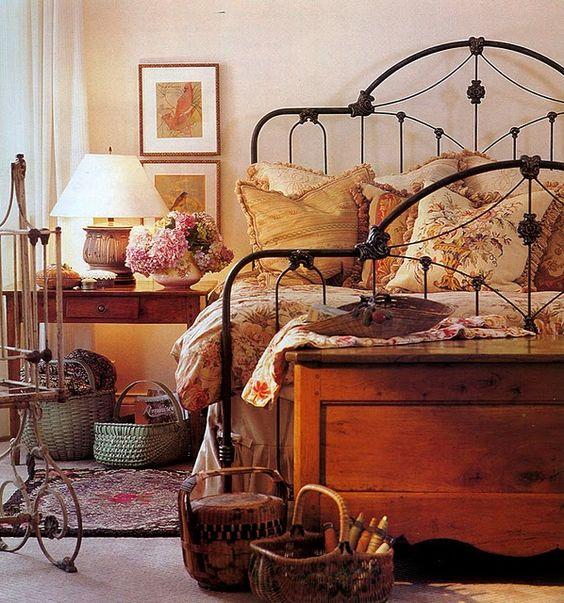 cedar chest in a bedroom