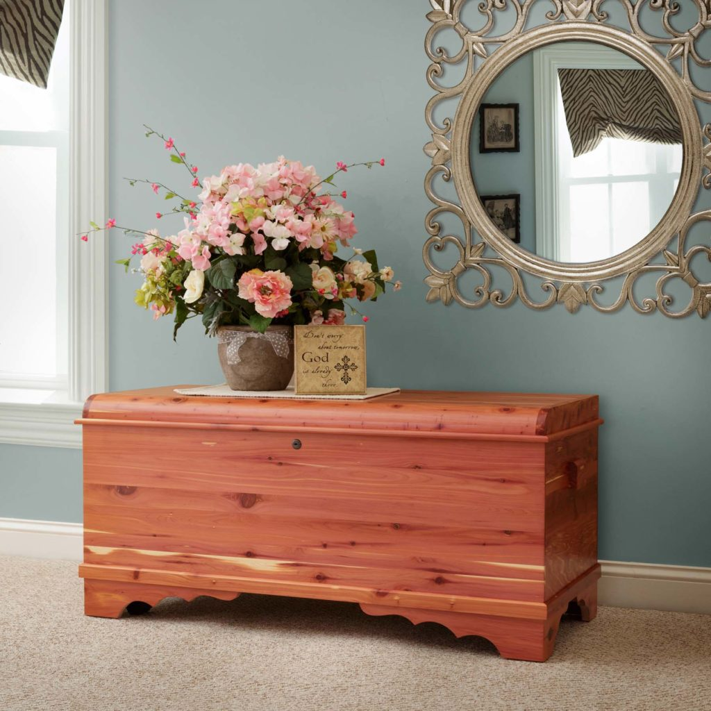 What Is Safe to Store in a Cedar Chest?