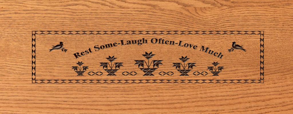 lrest some laugh often love much