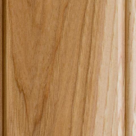 natural hickory finish