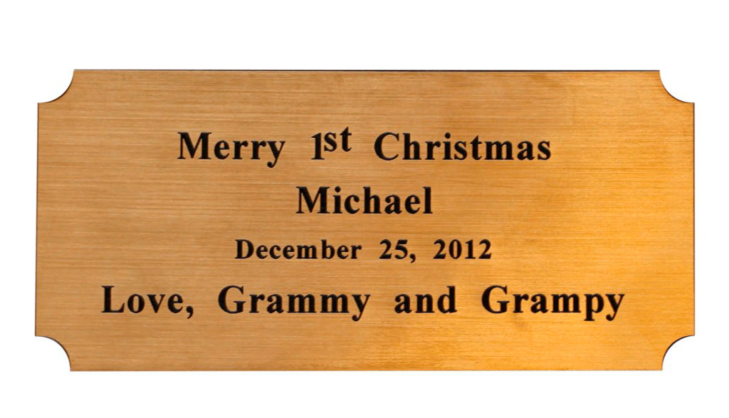 flexi plate custom engraving