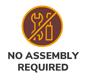no assembly