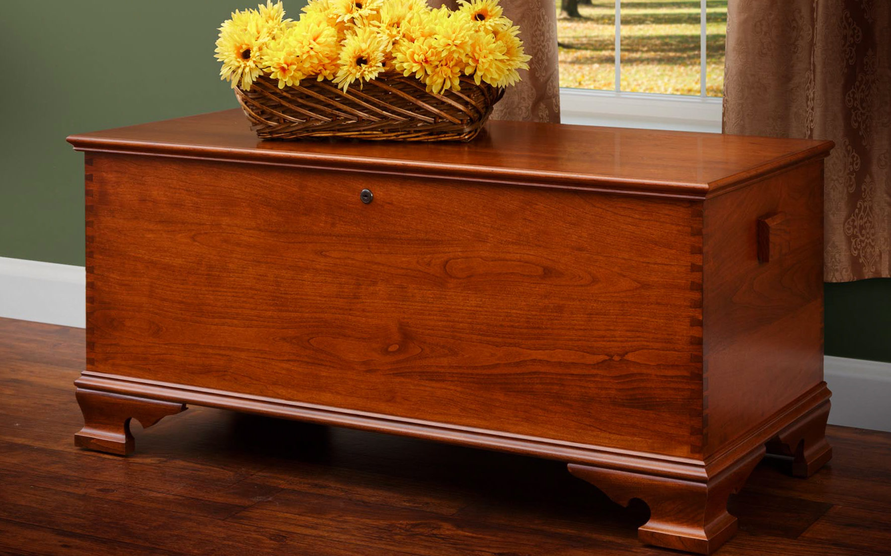 Quality Built Reproduction Hope Chest
