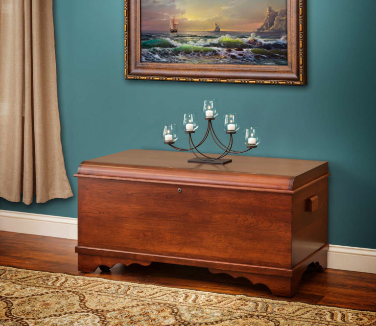 large harmony waterfall chest cherry